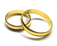 Par de Alian�a de Casamento