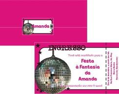 Convite Ingresso Festa � Fantasia