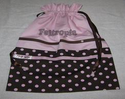 saquinhos de tecido para lingerie