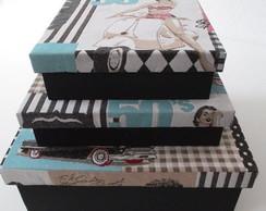 Trio caixas Paris - Encomenda Entregue