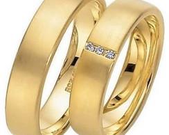 Par de Alian�a de Casamento e Noivado