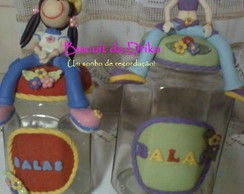 Pote para balas/Pot for candies