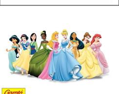 R�tulo para batom Princesas