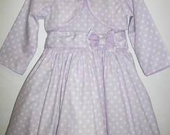 Vestido de po� confeti Lil�s CDG:4116
