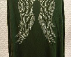 Casaquinho multi uso com asas em strass