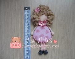 Boneca Georgia c/ cabelo de l� Ref 160