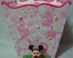 Lixeira Minnie SUPER PROMO�O