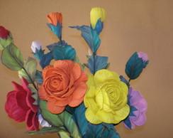 Flores emborrachadas