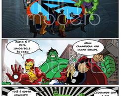 Convite Gibi Os Vingadores, The Avengers