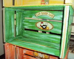 Caixote Galinhas- Verde