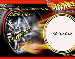 Lembrancinha do Hot wheels