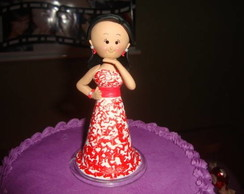Debutante em biscuit