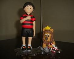 Torcedor e mascote (Sport Club Recife)