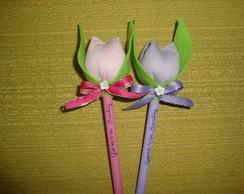 Lembrancinha - ponteira de tulipas