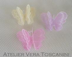 Borboletas de papel vegetal!