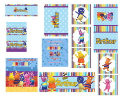 Kit Festa Personalizada Backyardigans