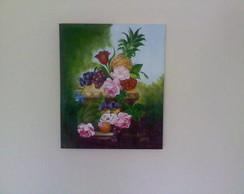 Pintura em tela- Natureza Morta