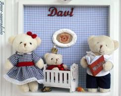 Quadro Fam�lia de Ursos