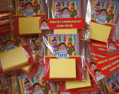 �m� Post-it (P) com lacre personalizado