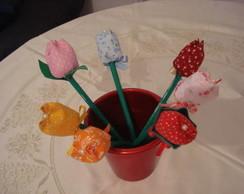 l�pis ponteira tulipa