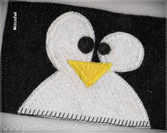 Case Tablet Ipad Pinguim Tux