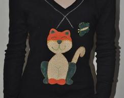 Camiseta- Gatinha Manhosa