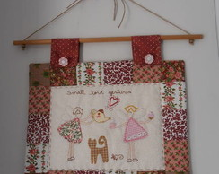 pan� patchwork bordado
