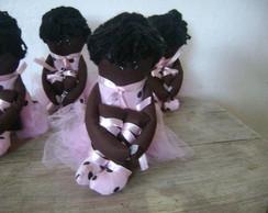 Boneca Bailarina Negra
