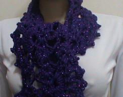 cachecol de croch�