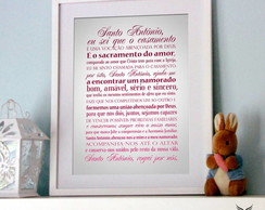 Poster Ora��o Santo Ant�nio