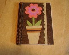 Caderno Flor 01
