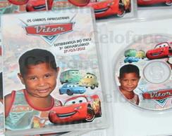 DVD personalizado Carros