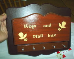 Porta-Chaves e Cartas