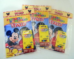 Kit Revista Para Colorir Mickey