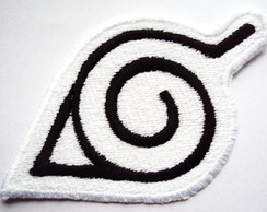 Konoha Patch Bordado Termocolante