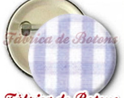 BOTON 2,5cm ESTAMPA XADREZ