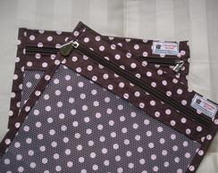 Saquinhos organizadores de tecido