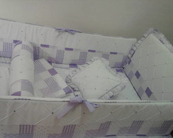 KIT BER�O LILAS PATCHWORK