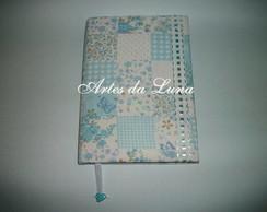 Caderno Encapado com Tecido 100% Algod�o