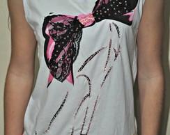 Camiseta - La�o Preto