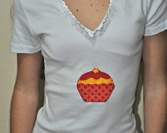Camiseta - Cupcake