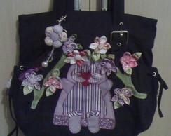 Bolsas de pano decoradas