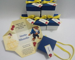 Convite Caixa Infantil