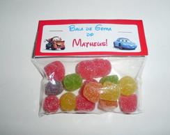 Embalagem para doces - Tema Carros