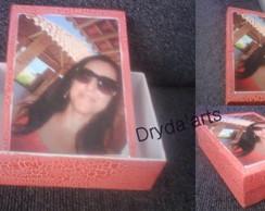 caixa com fotos