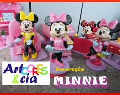 Decora��o Casa da  Minnie