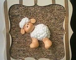 Mini quadro ovelha!