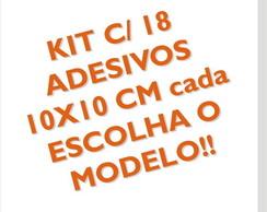 "Kit ""Escolha"" 10x10 cm FRETE GR�TIS!!!!!"