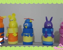 Pote decorado Backyardigans
