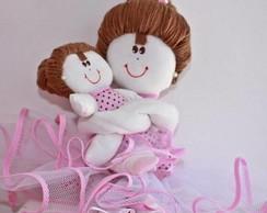 Boneca Bailarina para nicho m�e e filha